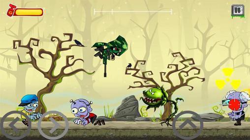 Arcade-Spiele Zombie attack 2 für das Smartphone