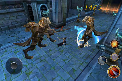 Forsaken world mobile MMORPG capture d'écran 1