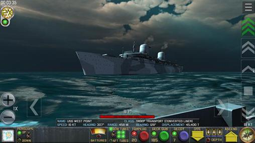 Crash dive: Tactical submarine combat captura de pantalla 1