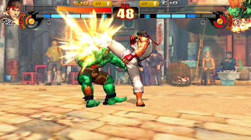 Street fighter 4: Arena для Android