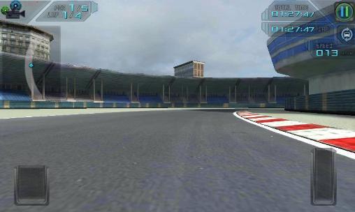 High speed 3D racing capture d'écran