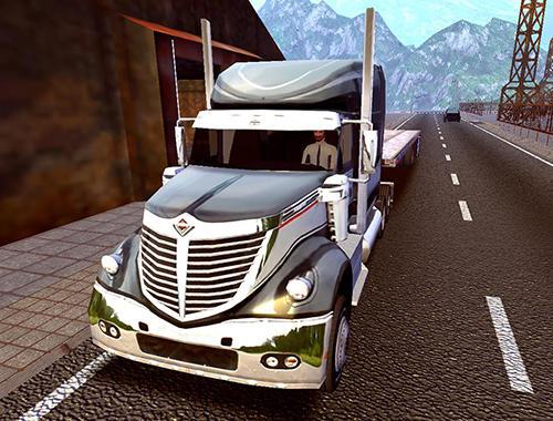 Fernlastfahrer Truck simulator: Europe 2 auf Deutsch