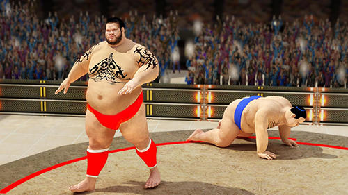 Sumo wrestling revolution 2017: Pro stars fighting für Android