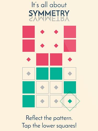 Logikspiele Symmetry: Path to perfection für das Smartphone