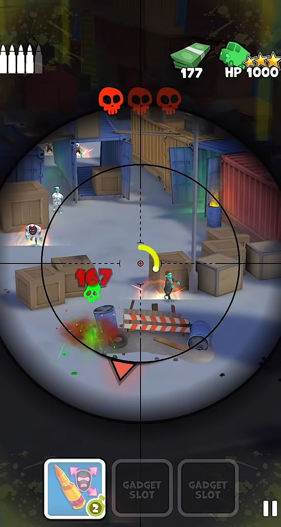 Snipers Vs Thieves: Zombies! screenshot 1