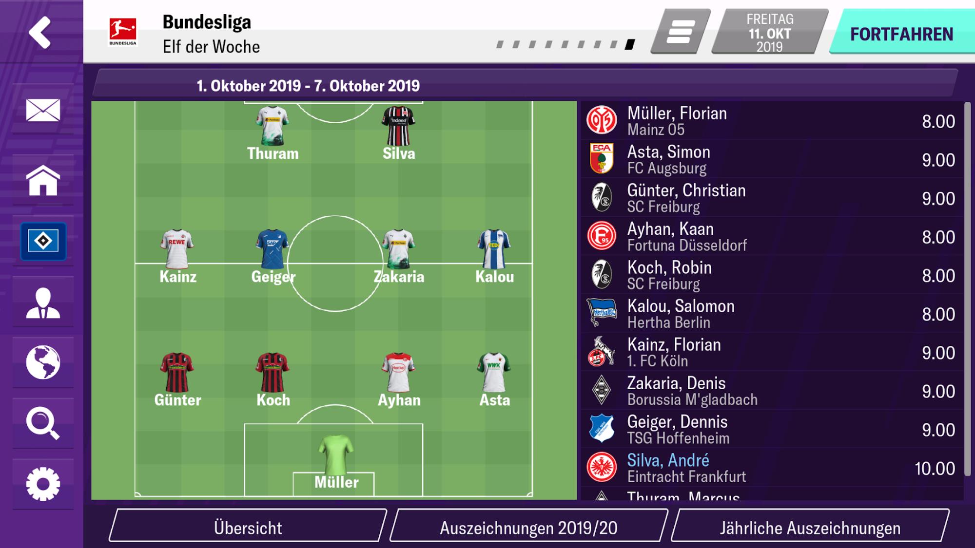 Football Manager 2020 Mobile screenshot 1