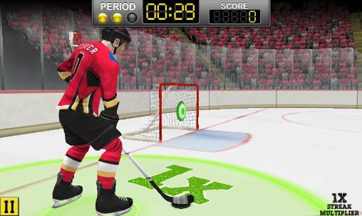 NHL hockey: Target smash Screenshot