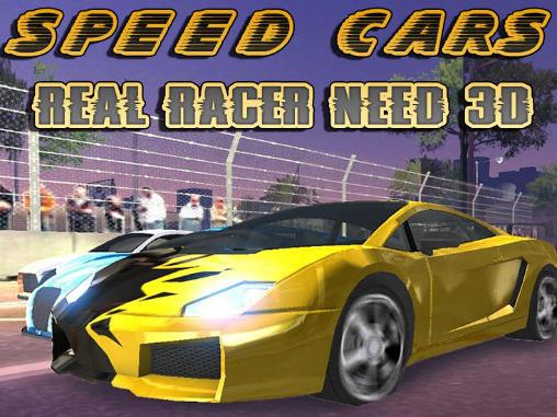 Speed cars: Real racer need 3D captura de pantalla 1