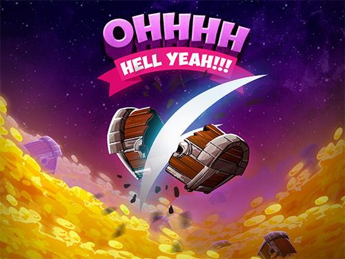 Arcade-Spiele Barbaric: The golden hero für das Smartphone