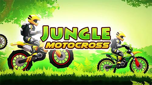 Jungle motocross kids racing ícone