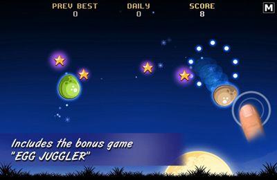 Captura de pantalla El Pollo y el Huevo en iPhone