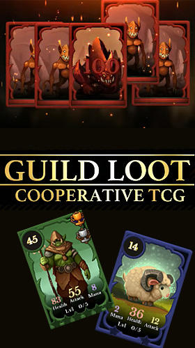 Guild loot: Cooperative TCG скріншот 1