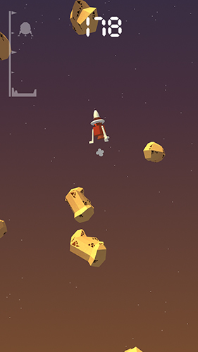 Screenshot Lander pilot on iPhone