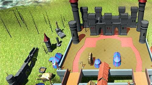 Stickman 3D: Defense of castle para Android
