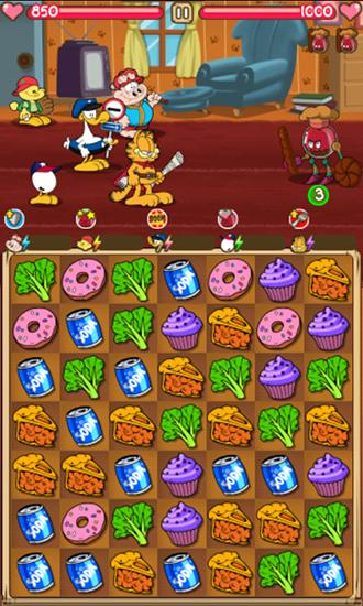 Garfield's epic food fight para Android