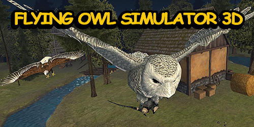 Flying owl simulator 3D capture d'écran 1