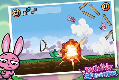 Screenshot Hasen Schießen auf dem iPhone