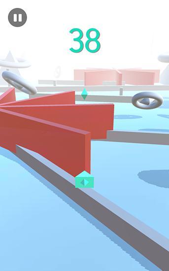 Geometry sky rockets meltdown Screenshot
