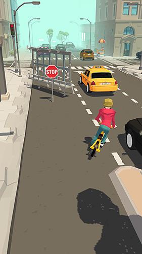 Fahrrad-Spiele Crazy bike rider auf Deutsch
