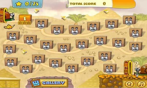 Puzzle-Plattformer Snail Bob 3: Egypt journey auf Deutsch