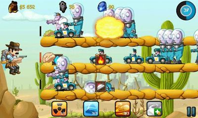 Cowboy Jed: Zombie Defense para Android