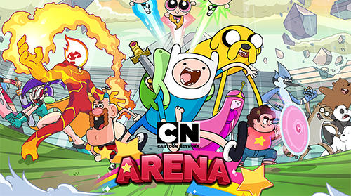 Cartoon network arena captura de tela 1