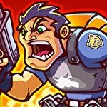 Metal mercenary: 2D platform action shooter Symbol