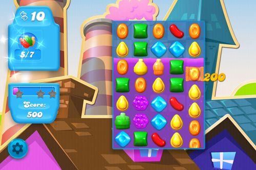 Destruction des bonbons: Saga de soude pour iPhone