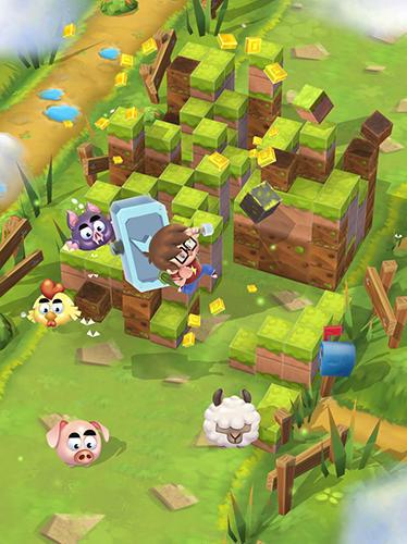 Craft away! Idle mining game captura de pantalla 1