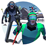 Long step: Ski race icono