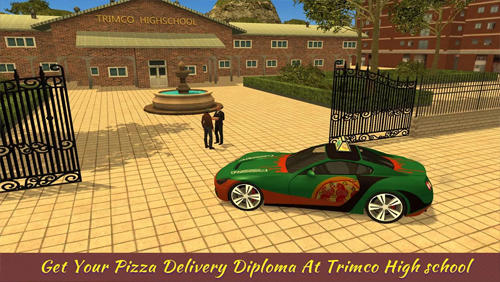 Racing games Crazy pizza city challenge 2 for smartphone