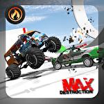 Accident d'auto: Destruction maximale icône