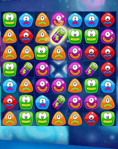 3 Gewinnt Jelly nova: Match 3 space puzzle auf Deutsch