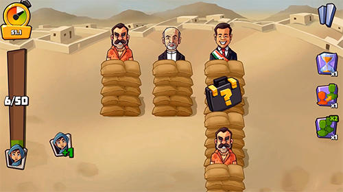 Vote blitz! Clicker arcade and idle politics game für Android