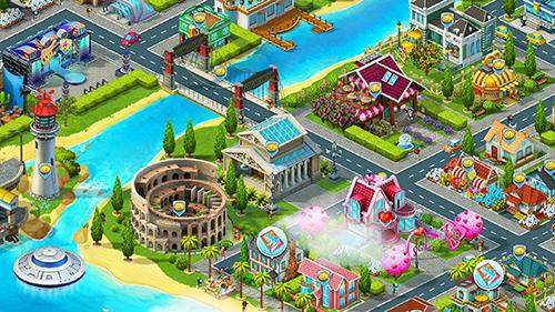 Supercity: Building game captura de tela 1