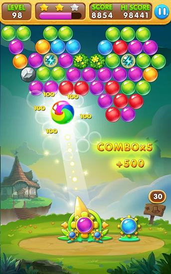 Bubble blast mania скриншот 1