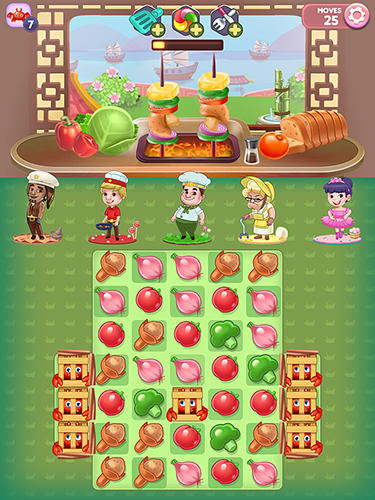Fantastic chefs: Match'n cook para Android