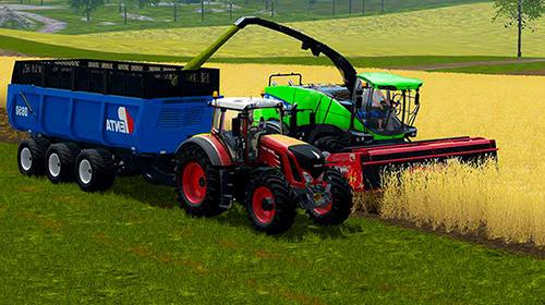 Farmer's tractor farming simulator 2018 für Android