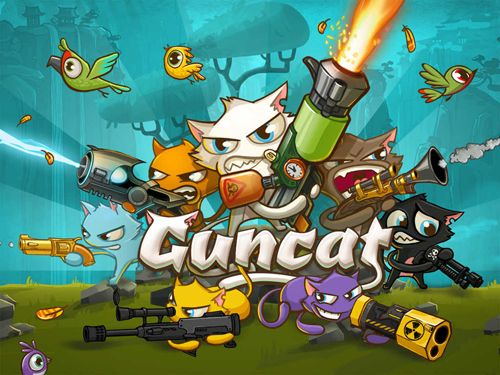 Screenshot Guncat on iPhone