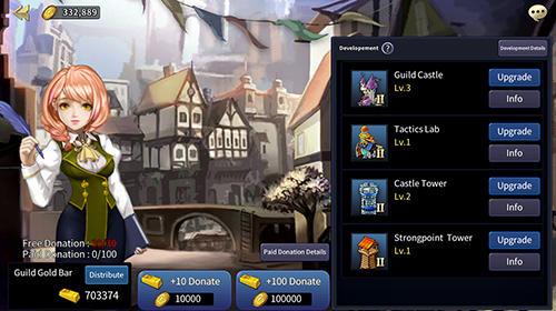 RPG-Spiele Soul seeker: Six knights. Strategy action RPG für das Smartphone