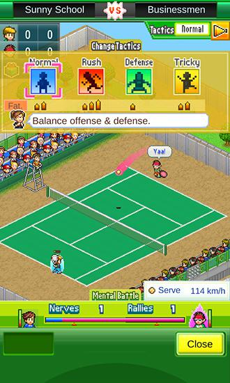 Tennis club story für Android