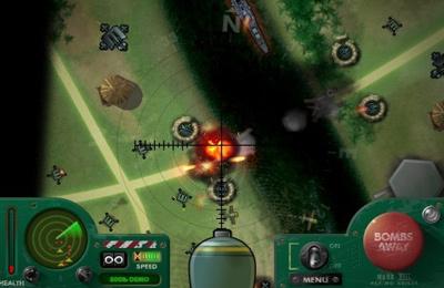 Arcade-Spiele: Lade iBomber auf dein Handy herunter