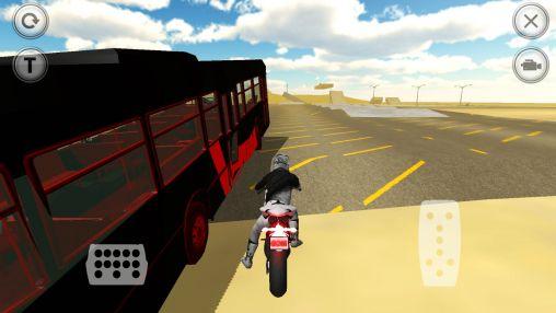 Extreme motorbike racer 3D Screenshot