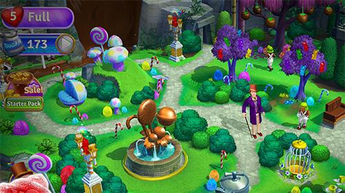 Arcade-Spiele Willy Wonka's sweet adventure: A match 3 game für das Smartphone