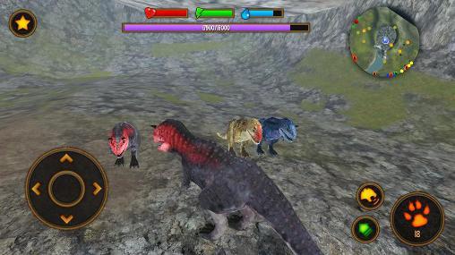 Spiele über Tiere Clan of carnotaurus auf Deutsch