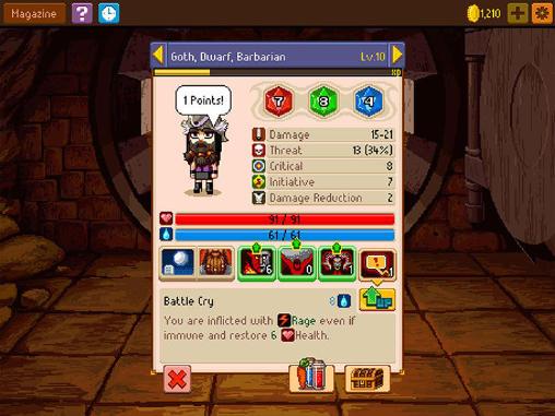Screenshot Ritter von Stift und Papier 2 auf dem iPhone