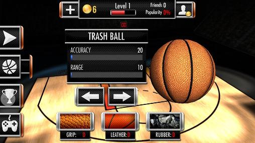 Basketball showdown for Android