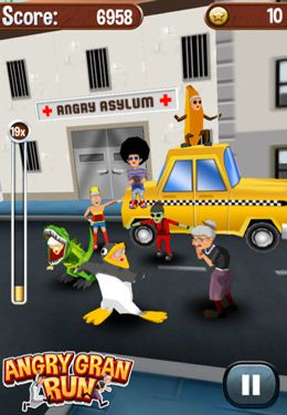 Angry Gran Run for iPhone for free