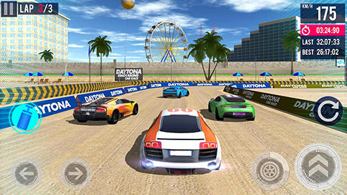 Deltona beach racing: Car racing 3D para Android