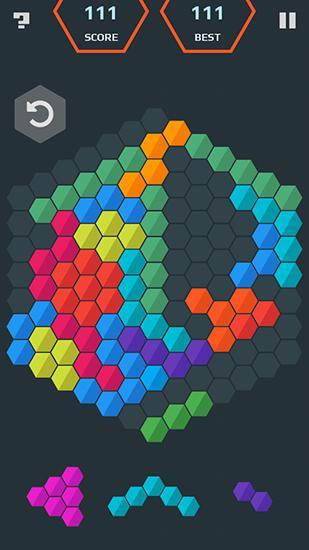 Logik Hexamania: Puzzle für das Smartphone